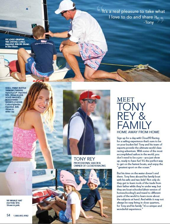 Huckins Owners featured in Vineyard Vines!