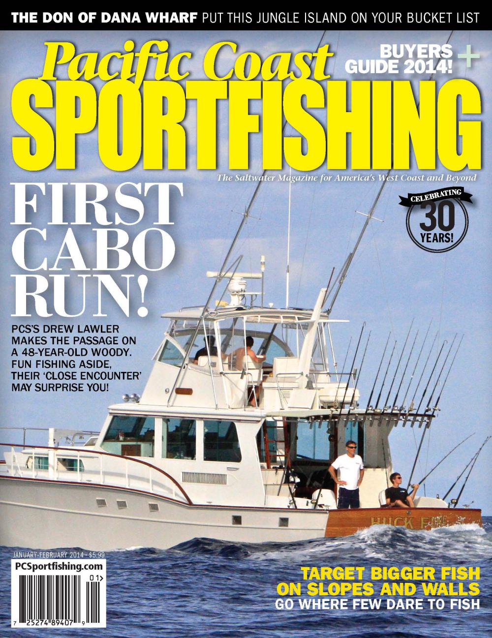 First Cabo Run Aboard 56' Huckins Sportfisherman