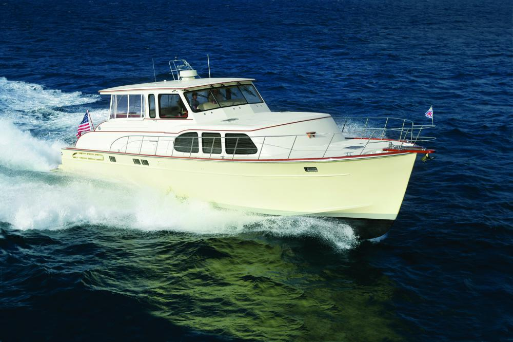Huckins 56 Linwood INTEGRITY   February 2007 Issue of Yachting