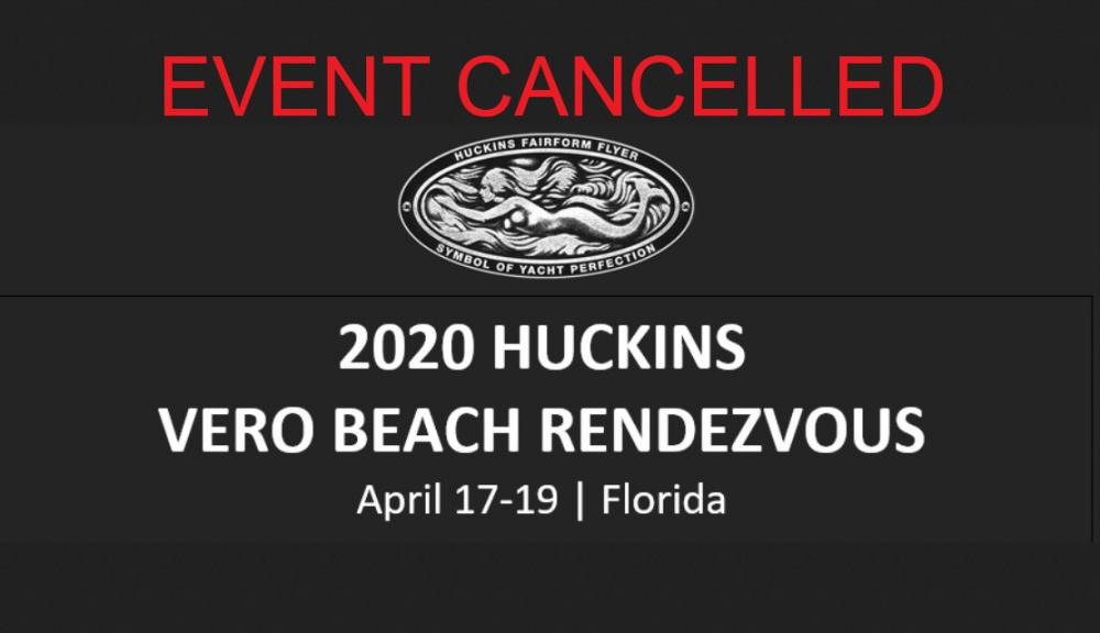 Huckins 2020 Rendezvous - Cancelled due to COVID-19