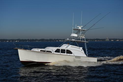 45' Huckins Sportsman WOMBAT