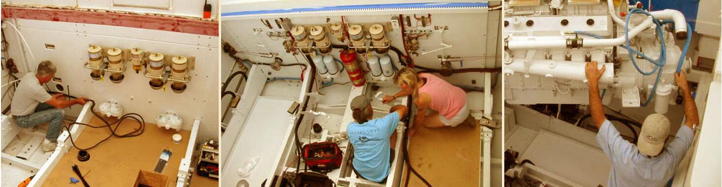 Huckins Yachts Service