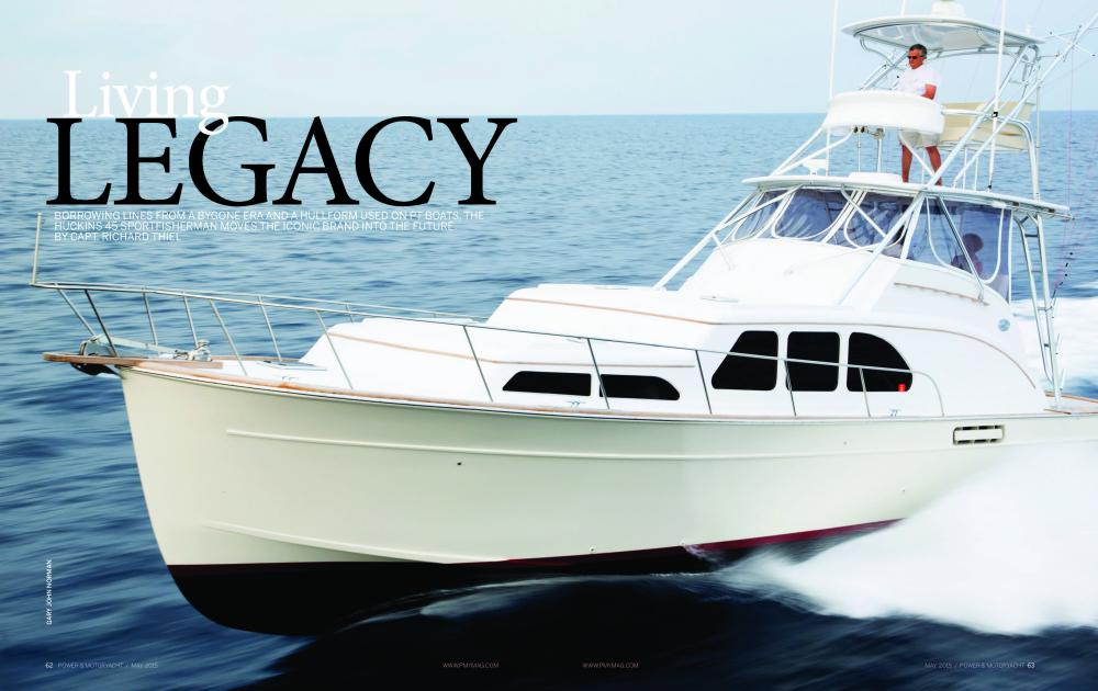 Living Legacy | May 2015 Issue Of Power & Motoryacht
