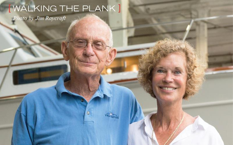 WALKING THE PLANK: Cindy & Buddy Purcell | 2018 Issue of Soundings