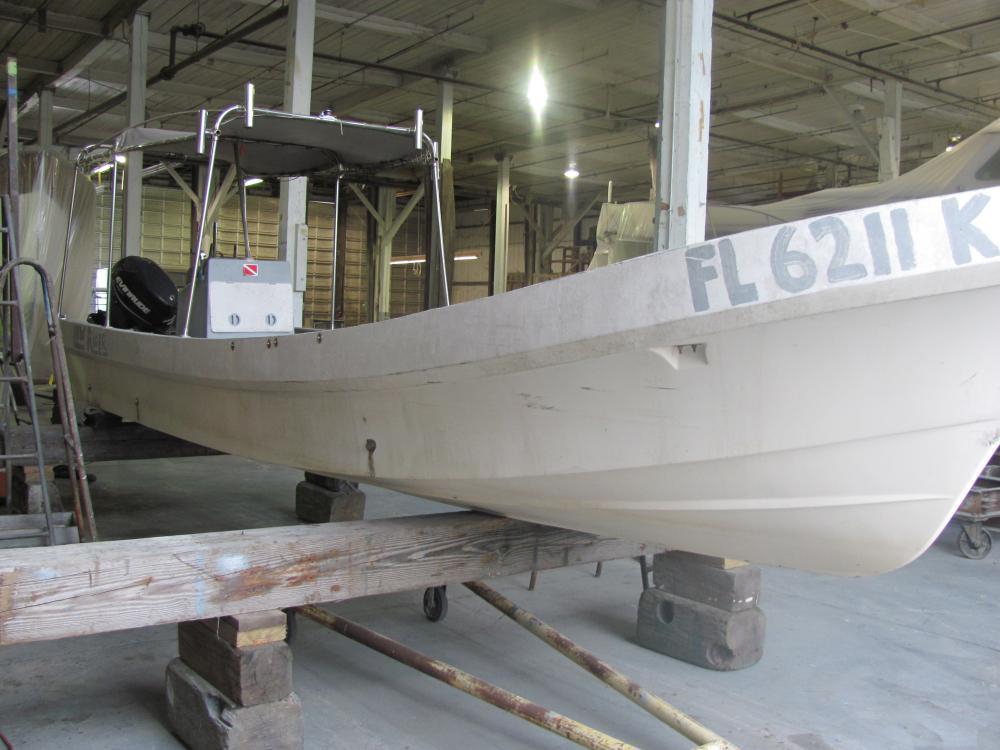 Refit: 24' 1997 Panga Boat