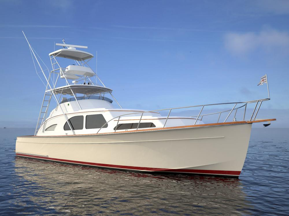 Huckins 45 Sportfisherman | March 2014 Issue Of Yachting