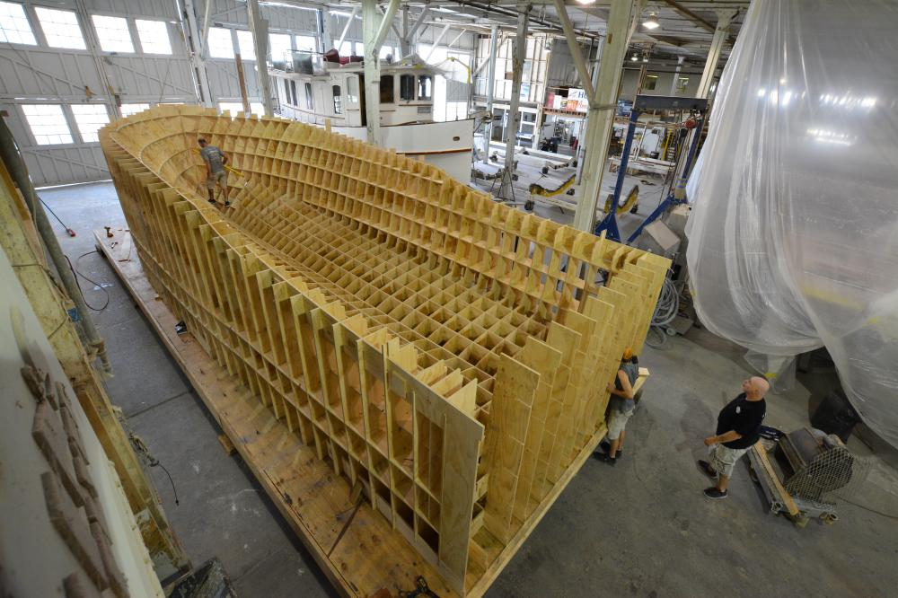 Sportsman 38 - Construction Photos