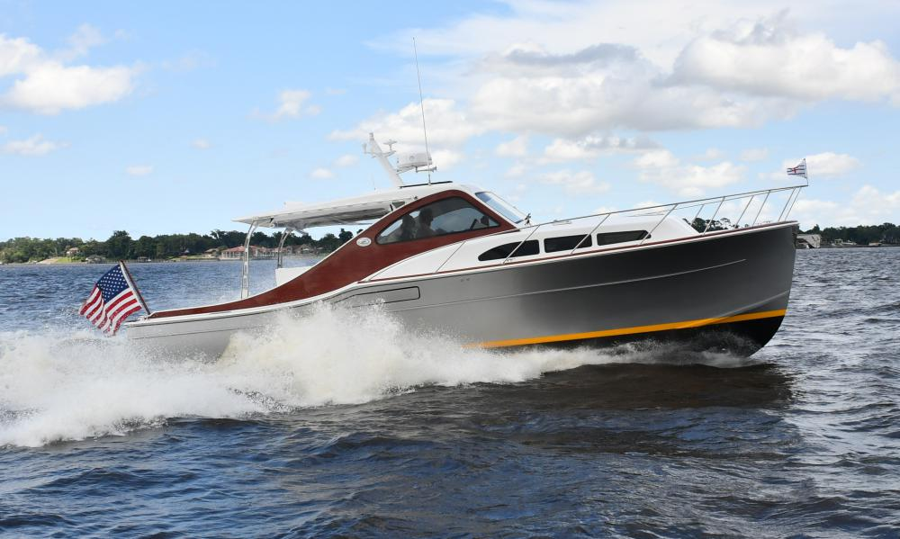 Tour hybrid Sportsman 38 (July 24-26) at Fernandina City Docks