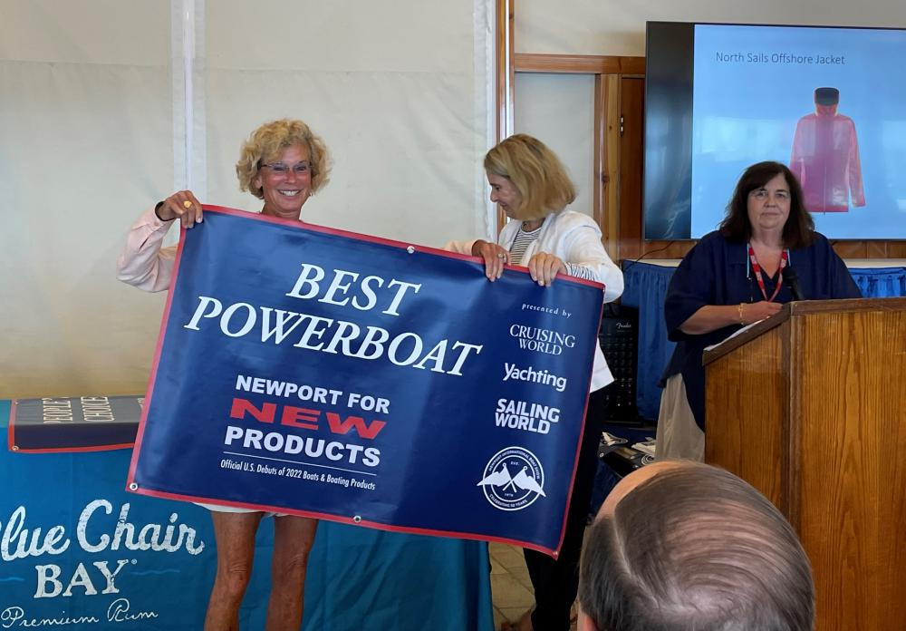 Best New Powerboat at the Newport Boat Show