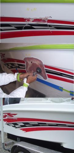 Fiberglass & paint work